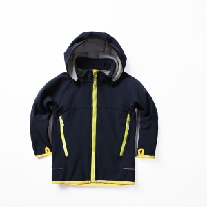 Boys Soft Shell with Detachable Hood